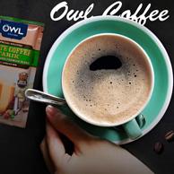 60年老牌,2件 Owl  猫头鹰 榛果味 三合一速溶咖啡40gx15袋