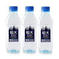 天猫超市 恒大 原味苏打水360mlx24瓶