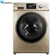 小天鵝 10公斤洗烘一體變頻滾筒洗衣機 TD100S32DG5 上排水 金色