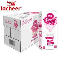 1日0点:Lacheer兰雀 唯鲜系列 全脂高钙纯牛奶 1Lx12盒