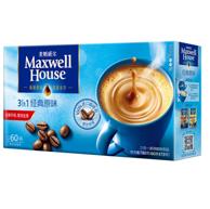 3件 麦斯威尔 原味 速溶咖啡13gx60条
