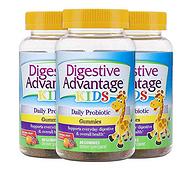 活性益生菌 缓解腹胀+腹泻 80粒x3瓶:美国 DA 儿童益生菌软糖