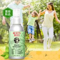低过海淘、不含避蚊胺:Burt's Bees 小蜜蜂 天然柠檬草驱蚊液 118.2ml