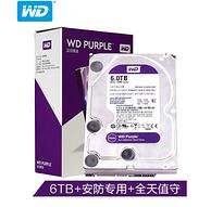 0点 全天监控: Western Digital 西部数据 监控硬盘 6t