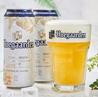 韩国产,Hoegaarden 福佳 白啤酒 500mlx24听