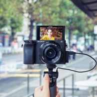 Vlog神器,Sony 索尼 ILCE-A6400L 微单 Vlog手柄套装