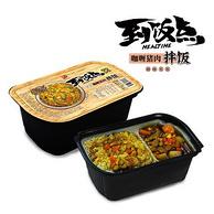 自热速食,紫山 咖喱猪肉拌饭320gx2盒
