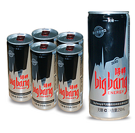 临期特价 0卡路里 无糖:荷兰 嗨棒 250mlx6罐