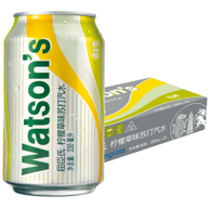 Watsons 屈臣氏 柠檬草味苏打汽水 330mlx24听x2件