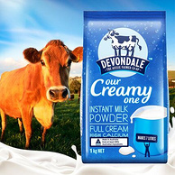 澳洲进口 Devondale 德运 全脂奶粉 1kg