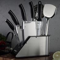 Maxcook 美厨 11件 不锈钢刀具套装