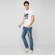 16日0点:Lee X-Line 男士 修身小脚牛仔裤