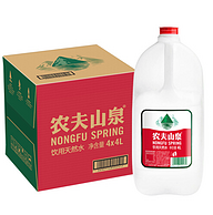 农夫山泉 饮用天然水 4Lx4桶