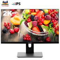 LG原装屏,优派 27寸 2K 110%色域 IPS显示器VX2780-2K-HD-2