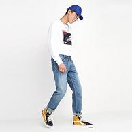 Lee X-Line 男士 中腰 九分小脚 牛仔裤