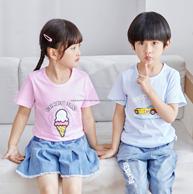 2件 鲁东 80-140cm 儿童 纯棉 T恤