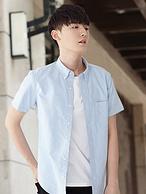 618返场 100%棉:凡客诚品 男士短袖衬衫