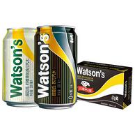 Plus会员:Watsons 屈臣氏 苏打汽水 330mlx24罐x3件