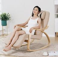 摇摇椅+按摩椅:佳仕康 休闲按摩轻摇椅