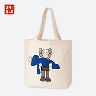 12点:UNIQLO 优衣库 KAWS拎包