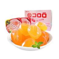 UHA 悠哈 桃子味 果汁软糖52gx6袋