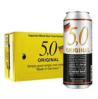 德国进口 奥丁格 自然浑浊型小麦白啤酒 500mlx24听