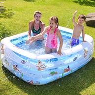 倍护婴 儿童 充气游泳池 110x88x33cm