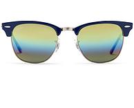 Ray·Ban 雷朋 RB3016 Clubmaster 复古款太阳镜 +凑单品