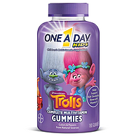德国拜耳旗下,180粒,One A Day Trolls魔法精灵款 儿童多种复合维生素软糖