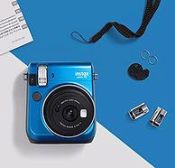 自拍+三段式对焦!FUJIFILM富士 instax mini 70 拍立得相机 prime会员免费直邮含税到手约476.61元(天猫799元)