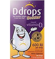 Ddrops 幼儿维生素D3增强滴剂 600 IU 100滴 2.8ml