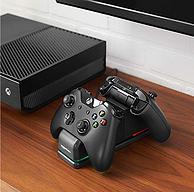 AmazonBasics 亞馬遜倍思 Xbox One 雙充電站+ 2 個可充電電池組
