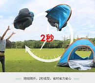 白菜價 2秒速開:RXW 帳篷 200x140x120cm 單門