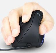 史低再降10元、竖握告别鼠标手:达尔优 竖握式 鼠标有线款 LM108