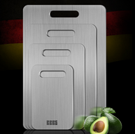 FDA认证、304食品级不锈钢!巴本豪森 304不锈钢菜板