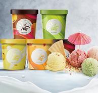 临期清仓个位数库存!纯鲜奶0添加:75gx24杯 赤纯 英式冰淇淋