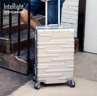 京選尚品×InteRight 24寸 鋁框 拉桿箱