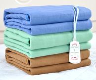 彩阳单人双控防水上下调温智能安全电热毯 拍下49元包邮(原价69元,超市活动价100+)
