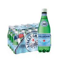 意大利进口 圣培露 含气天然矿泉水 500mlx24瓶