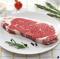 采用安格斯黑牛,雪菲 原切西冷牛排 250g