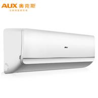Plus会员: AUX 奥克斯 KFR-32GW/NFW+3 小1.5匹 定速 壁挂式空调