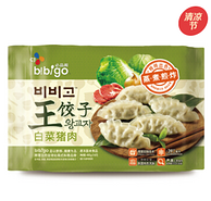 bibigo必品阁 白菜猪肉王饺子 490g
