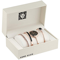 Anne Klein  AK/3290WTST 施华洛世奇水晶 手表手镯四件套