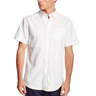 六倍差价:Lee 男式 短袖牛津衬衫