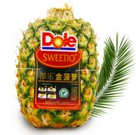 3件 菲律宾进口 Dole 都乐 无冠金菠萝1.5kg