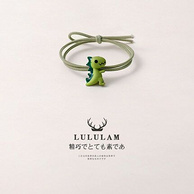 Lulu Lam 可爱小恐龙 发绳x3件 券后8元包邮