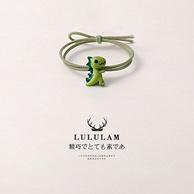 Lulu Lam 可爱小恐龙 发绳x3件
