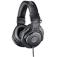 PrimeDay:Audio Technica 铁三角 ATH-M30x 专业工作室监听耳机