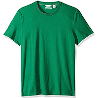 L/XL码,Calvin Klein 男式圆领防紫外线平纹针织 T 恤 prime会员凑单直邮含税到手约102.49元起