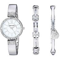降60元,Anne Klein 女士 施華洛世奇水晶 手表+手鏈 套裝